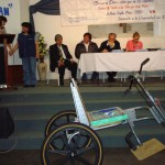 Presentation of the trike at WFTW opening ceremony