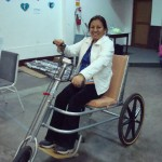 Disability leader in Peru