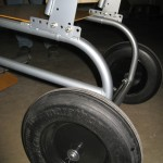 Adjustable Seatback & Foam Filled Rear Wheel