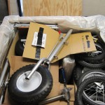 15 trike kits crated for Ethiopia