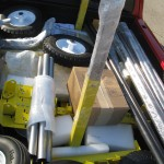 Packing trike manufacturing process for Texas Trip