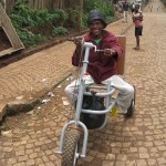 Returned to Village with a trike