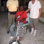 Replacement trike with Haiti brace ready for testing.