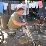Bulgaria: Ivanu trying the trike
