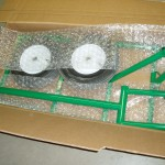 1st box-Trike Chassis, front fork, seat