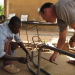 Fabricating in  Burkina Faso