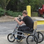 Hand-pedals in sync position