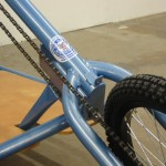 Low Rider Steering Tube, Fork View