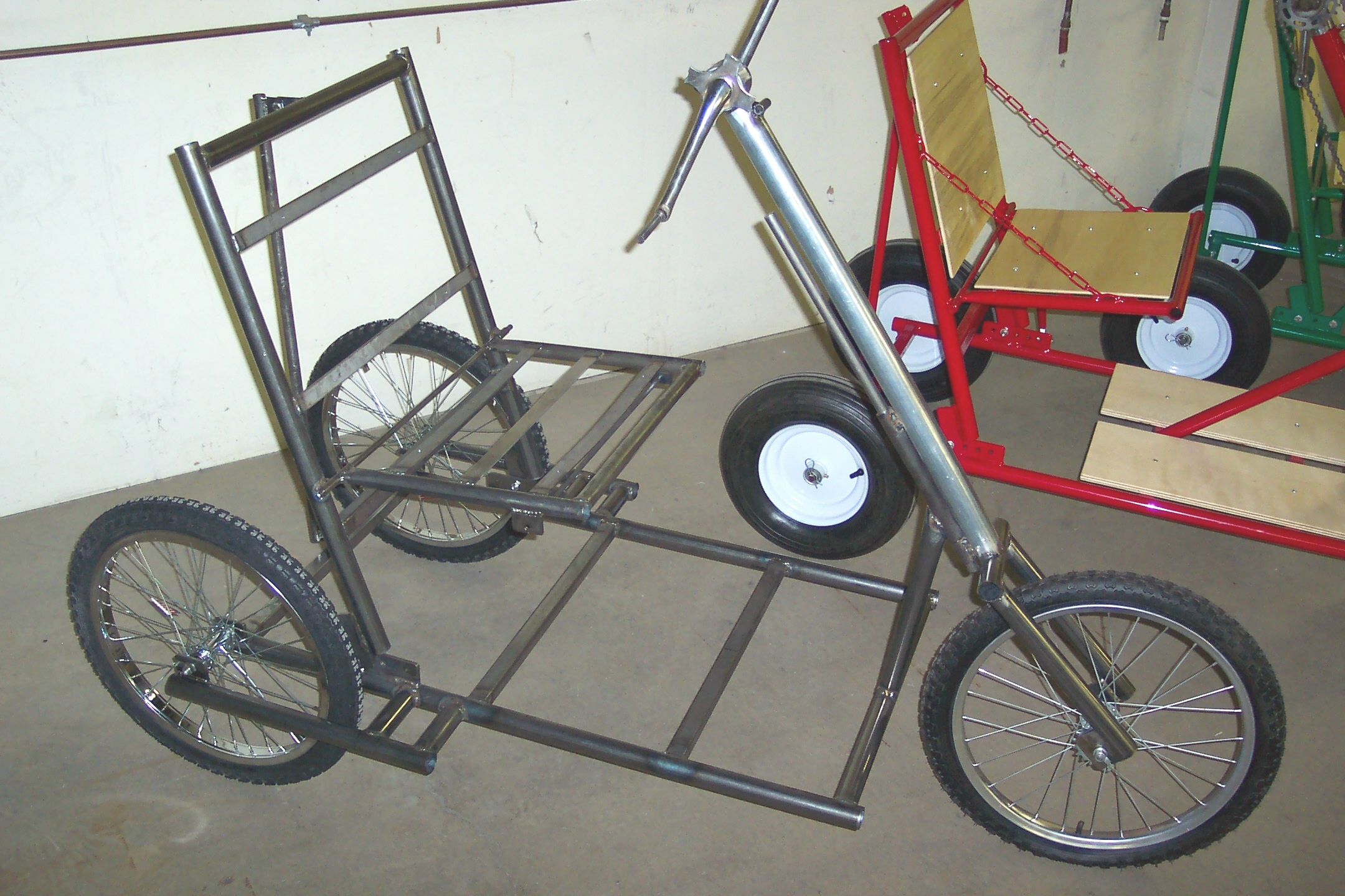 Will There Someday Be Bike In >> Hand-Pedaled Trike History (Comprehensive) - His Wheels International